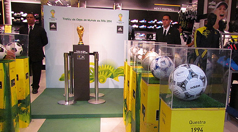 Release of Cafusa, the official ball of the CONFED CUP 2013
