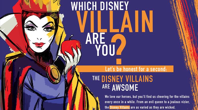 Disney Villains - Quiz